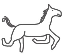 Nice horse cowboy